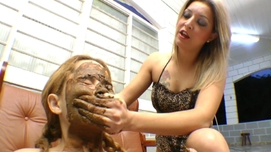 SCAT INTO MOUTH / Eat My Enormous Scat 2 - By Top Girl Melissa Cutti