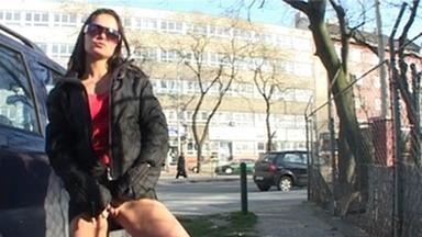 PUBLIC PEE GIRLS / Extreme Public Piss Girls Veronika