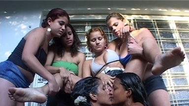 PISS AND SWALLOW / Piss Domination Girls Rosa-Maria-Melissa-Lisa-Anca-Julia