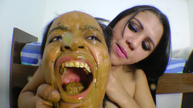 SCAT INTO MOUTH / Scat Real Swallow - By Aline Cruel