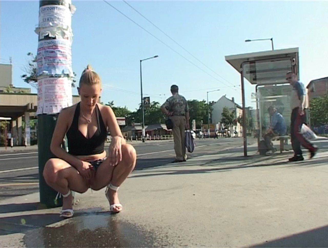 image Extreme public piss non stop xxx insertion