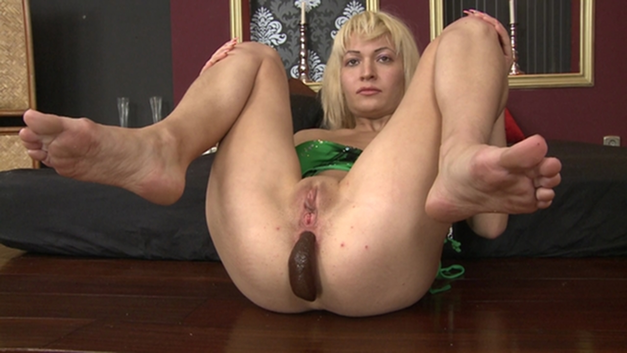 2 young femdom girls in heels and pants dominate man in ruin 2