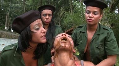 THEME SCAT MOVIES / Lesbian Scat Military Girls Anna-Beatrix-Carla-Zoe