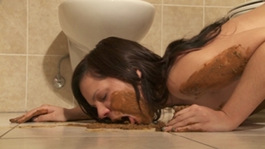 SCAT INTO MOUTH / Little Julie in the Bath (FULL FILM)
