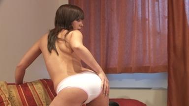 PANTY SCAT GIRLS / Little Julie shit in her panty -FULL FILM