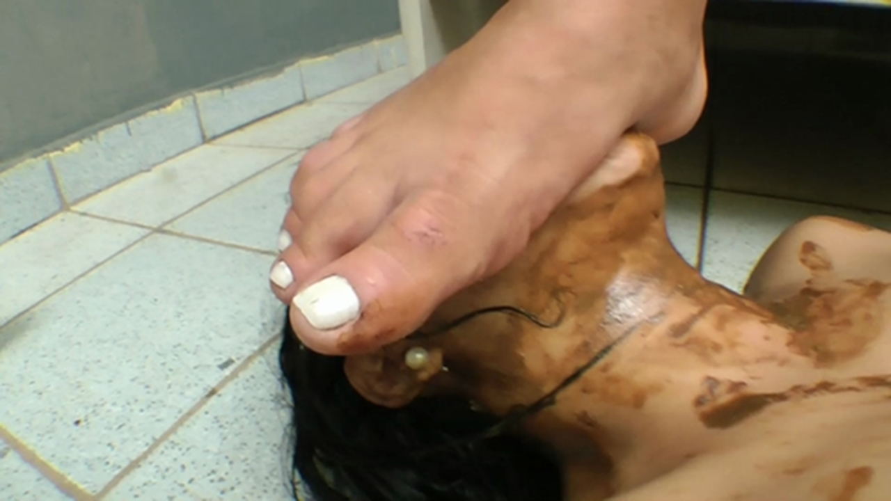 Peeing panties severely punished