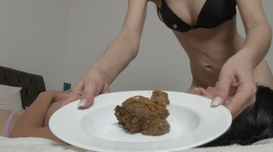 Scat Real Swallow - Real Eat Of Enormous Scat