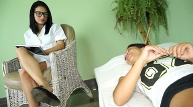 SCAT INTO MOUTH / Scat Psychiatry - I Need Feets And Scat My Psychiater By New Dominatrix Eriquinha And Slave Kitty
