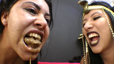 SCAT INTO MOUTH / Scat Swallow Deep Throat - The Egypt Story