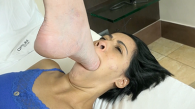SCAT INTO MOUTH / Scat Feet Control By Top Natalie Colliks And Bianca