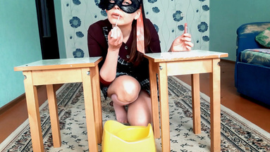 COOPERATE SCAT GIRLS / Scat Real Swallow- The Scat Burger By Top Babe Lina- Exclusive SG Video