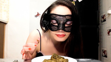COOPERATE SCAT GIRLS / Xtreme Scat Breakfast Real Swallow By Top Babe Lina